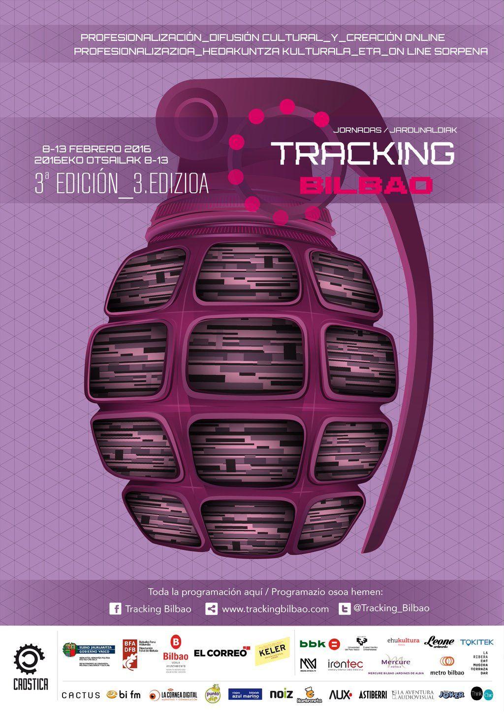 Cartel del programa de Bilbao Tracking 2016