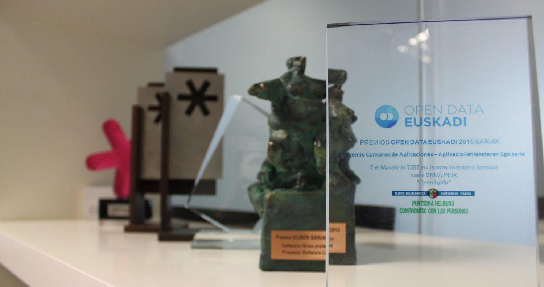Premios de Irontec Bilbao