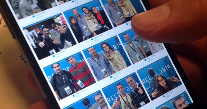 Nuestra App para eventos integra todo tipo de contenidos, como los de nuestro photocall automático