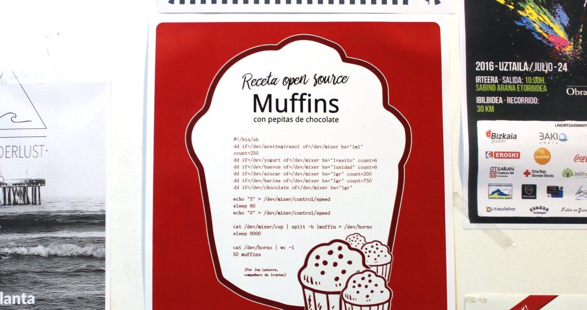 Nuestros muffins han florecido en Bilbao Berrikuntza Faktoria