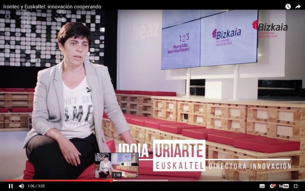 Idoia Uriarte, Directora de Innovación de Euskaltel