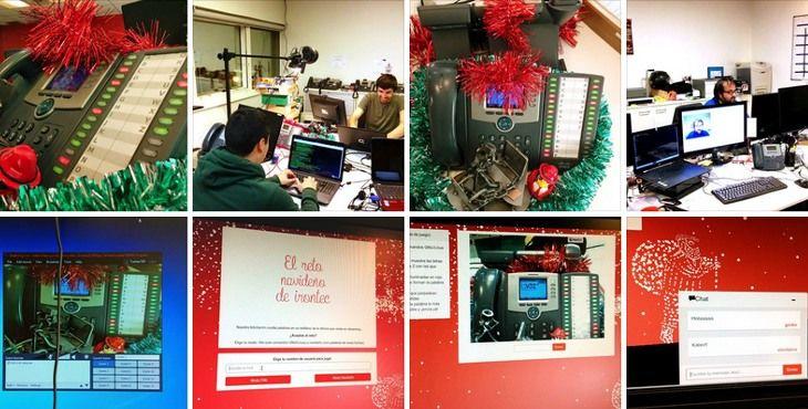 Las fotos de la instalación en facebook