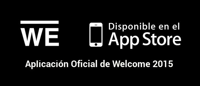 App Oficial del evento #WELCOME2015 para iPhone, iPad y iTouch
