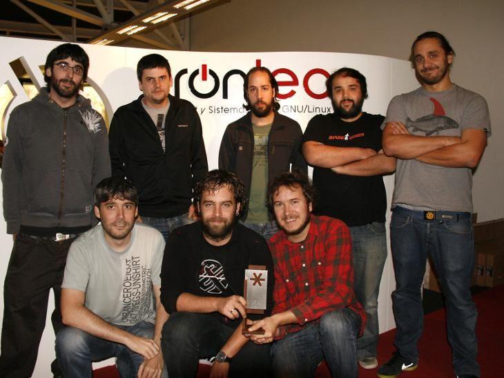 El equipo implicado en el proyecto centrexIP para Euskaltel