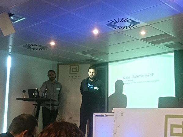 Twitter de Irontec en WordPress Euskadi 2015
