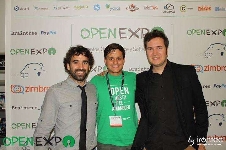 Manu Sánchez, uno de los impulsores de OpenExpo