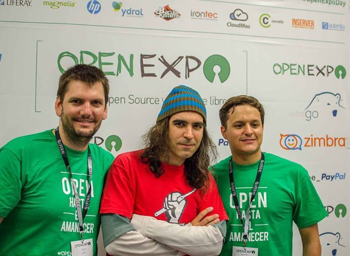 Txema Alonso en OpenExpo Day 2015