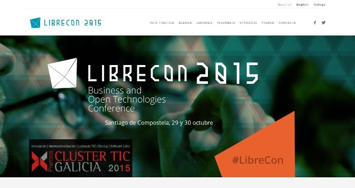 Web de LibreCon 2015