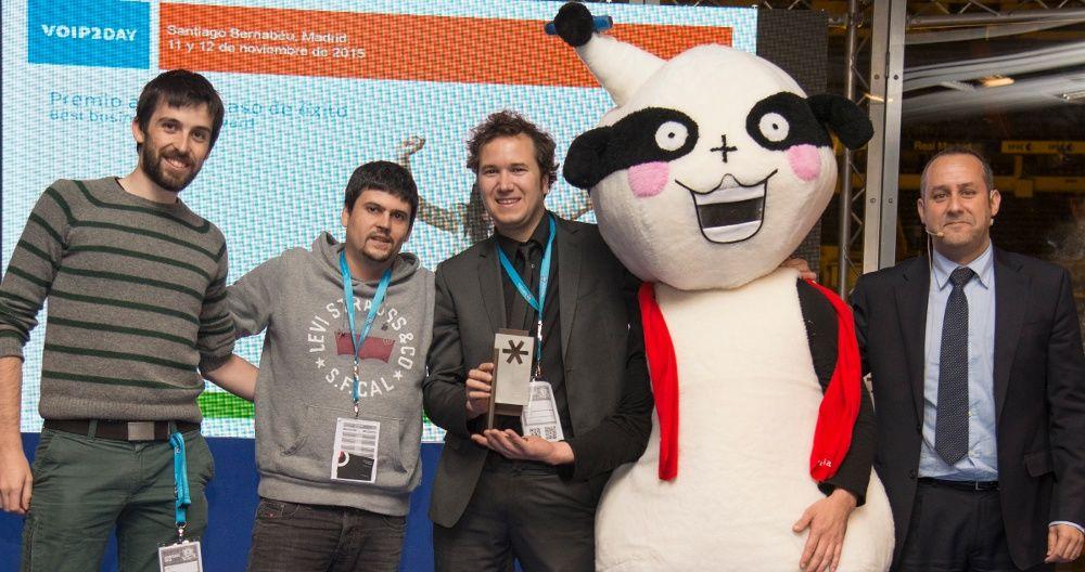 Irontec recogen el Premio al Mejor Caso de Ã?xito de VoIP2DAY 2015