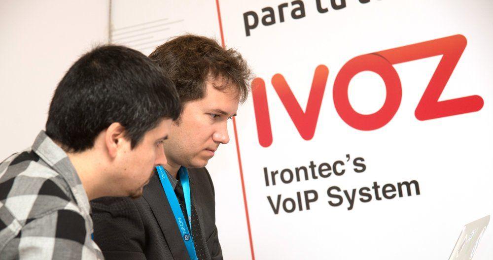 Stand de Irontec en VoIP2DAY 2015