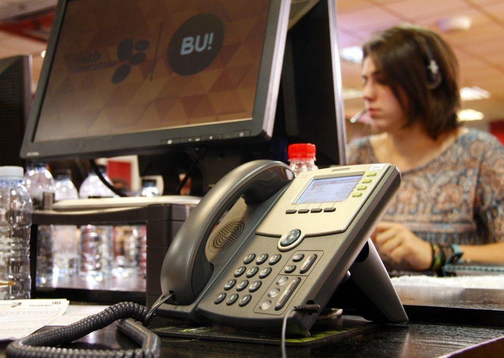 IVOZ Call center | EiTb Maratoia 2015