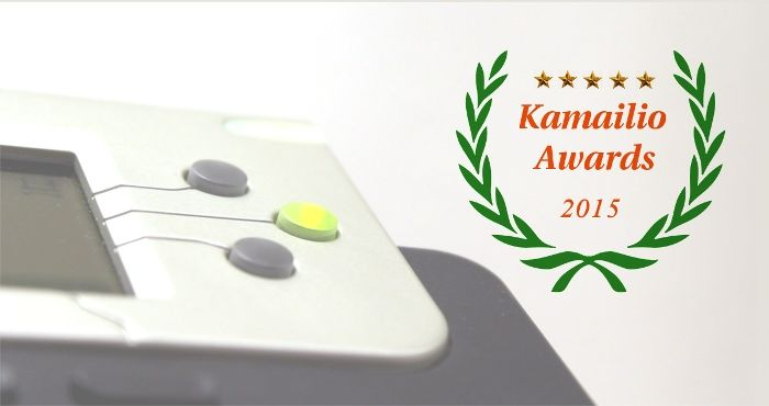 ¡Doble premio de VoIP en los Kamailio Awards 2015!