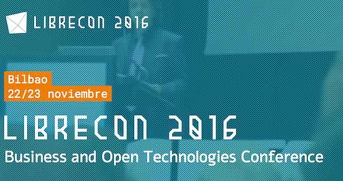 Lideramos Librecon2016: soluciones TIC Open para la Industria 4.0 y el sector financiero