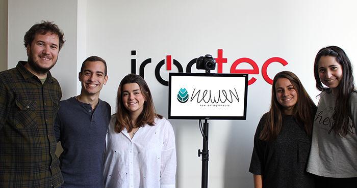 Irontec refuerza la estrategia comercial del Photocall automático con el talento de la startup Newen