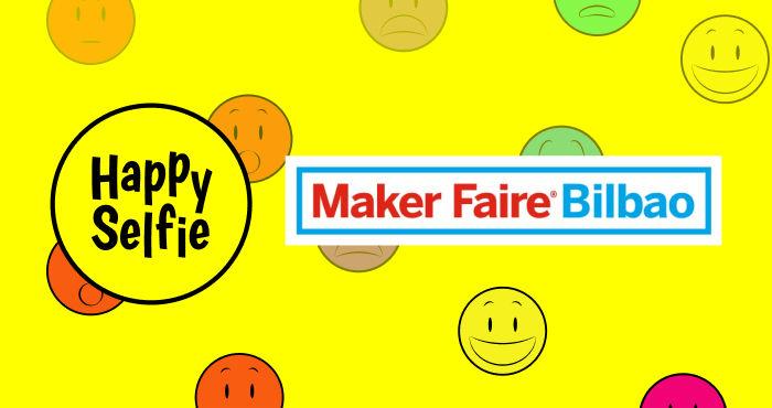 Happy Selfie, el primer fotomatón autónomo activado por sonrisas, en Maker Faire Bilbao