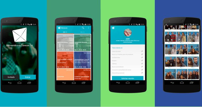 La App de Irontec para LibreCon Bilbao genera 500 reuniones de negocio