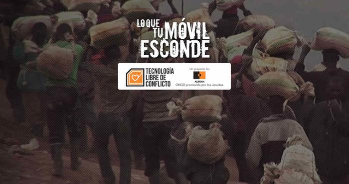Irontec con la campaña Tecnología Libre de Conflictos de Alboan