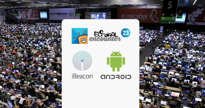Conferencia de Irontec sobre beacons, iBeacon y Android en la Euskal Encounter 2015