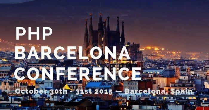 ¡Patrocinamos la PHP Conference Barcelona 2015!
