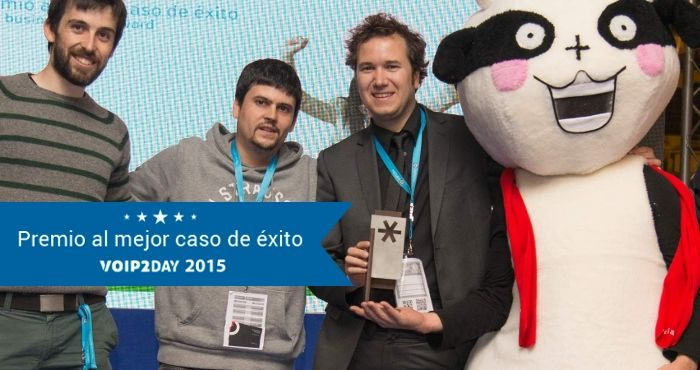 Ganamos el Premio al Mejor Caso de Ã?xito VoIP2DAY, por segundo año consecutivo