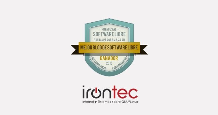 Irontec, Mejor Blog de Software Libre de 2015