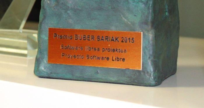 Irontec gana un Premio Buber 2015 como proyecto de Software Libre