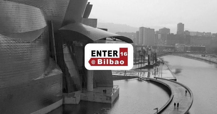 Hablando sobre nuestro software de digital signage en ENTER 2016 Bilbao