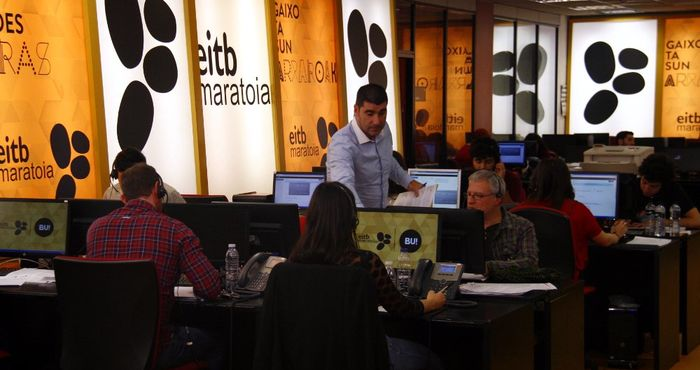 El Call Center del Maratón Solidario de EiTB