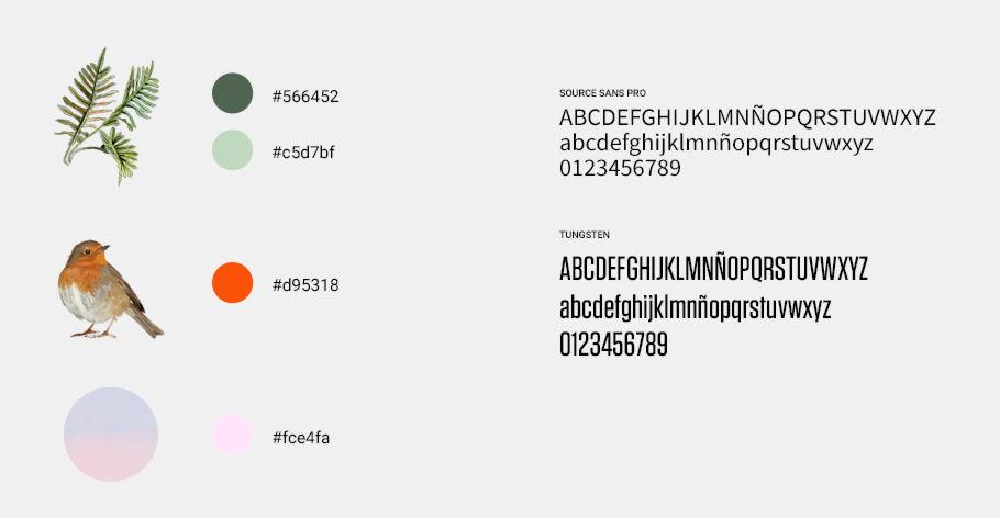 color y tipografia web bilbao bbk live