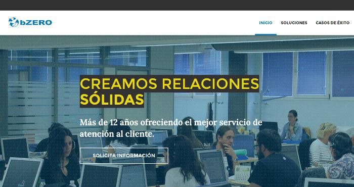 Estrategia digital y desarrollo de web corporativa para bZERO