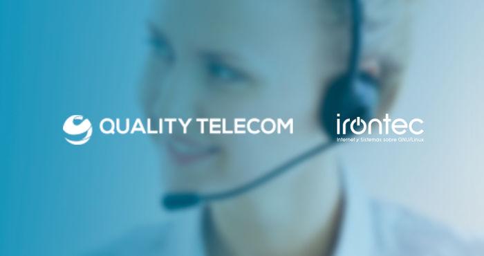 El área de VoIP de Irontec se alía con Quality Telecom y Vodafone para reforzar el servicio de Atención al Ciudadano del Ministerio de Política Territorial y Función Pública