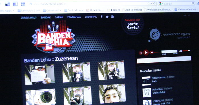 Banden Lehia: un reto tecnológico con formato de guerra de bandas