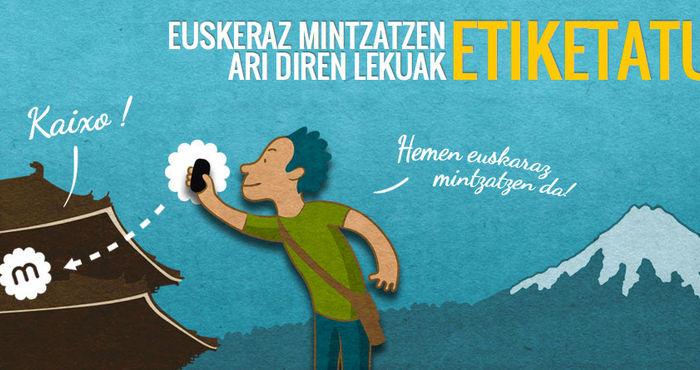 Mintzatu: la red social para geolocalizar el euskara