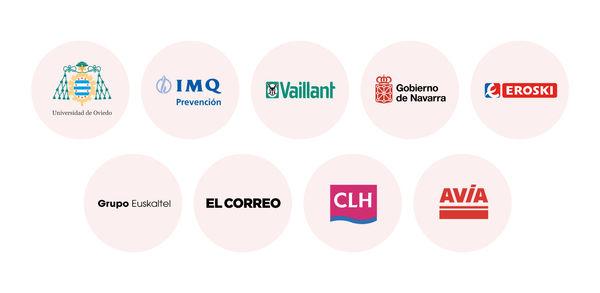 Logos clientes IVOZ UCC Irontec