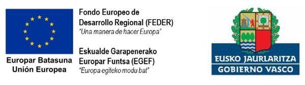 logos Unión Europea y Gobierno Vasco